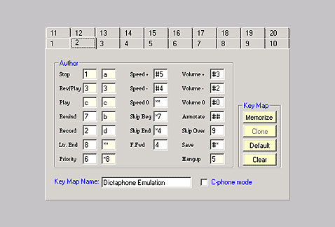Keypad Emulation