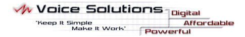 Voice Solutions - System