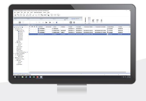 Olympus AS9000 transcription software